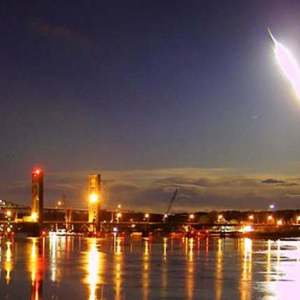 Bright Meteor soaring across U.S. Northeast