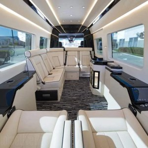 The $400,000 Mercedes 'private jet of vans'