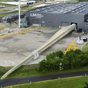 This is the longest Wind Turbine Blade in the world