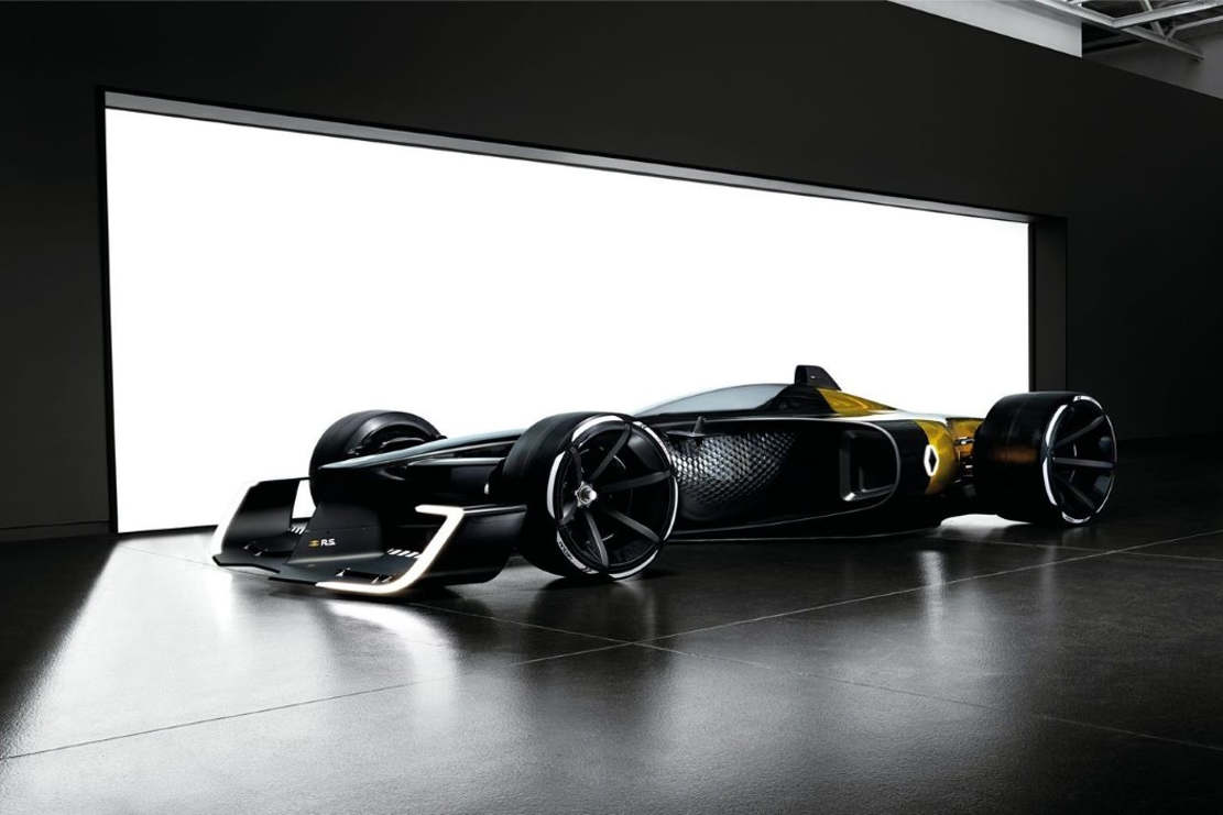 Car Racing Flag Wallpaper The Future Of F1 By Renault Wordlesstech