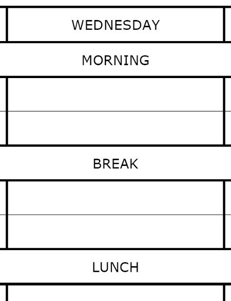 How to make a revision timetable MrReidorg - revision timetable template