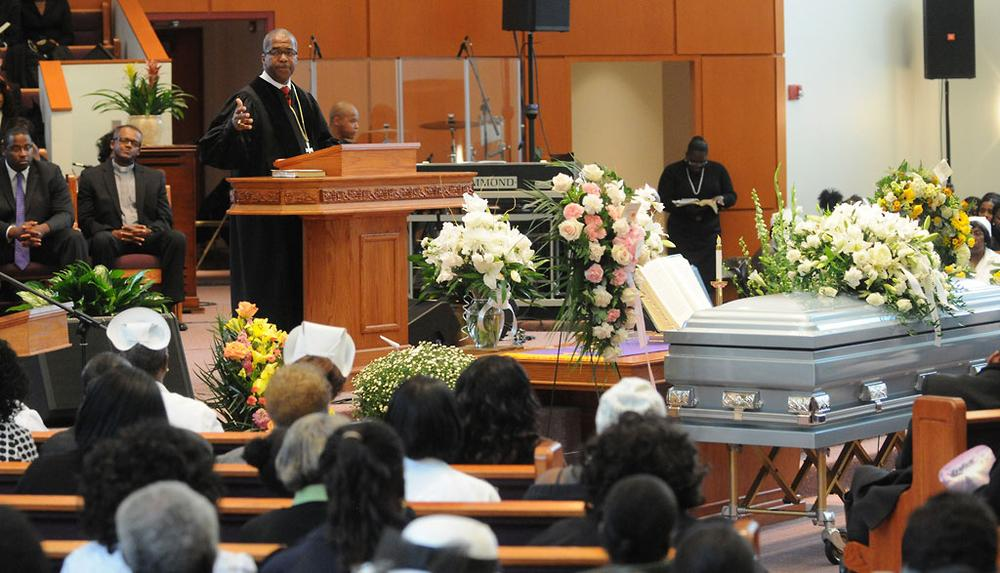 Vowing An End To Violence, Mattapan Mourns Mother And Son WBUR News