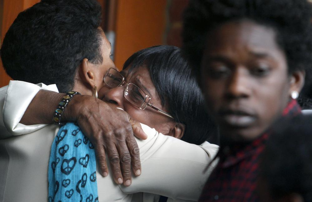 Buried Together, Mother And Son\u0027s Killing Is A Wake-Up Call WBUR News