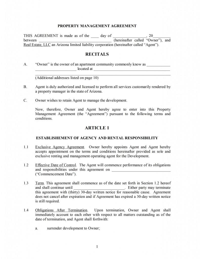Contract Novation Agreement – Novation Agreement Template