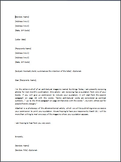Sample Requisition Letter Template Formal Word Templates