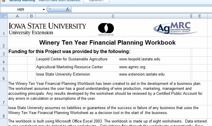 Microsoft Word and Excel 10-Business Plan Templates Formal Word - financial plan template word