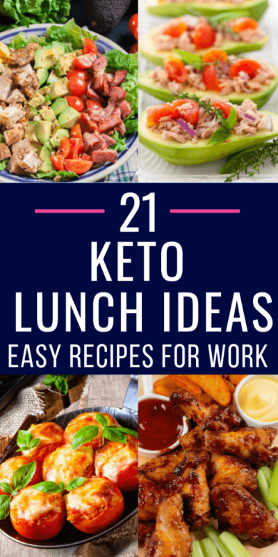 Keto Lunch Ideas! 21 Low Carb Recipes That'll Make You Look Forward to Lunch Again - Word To ...