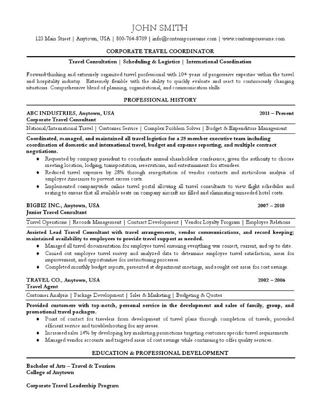 international logistics coordinator resume sample professional - Sample Logistics Coordinator Resume