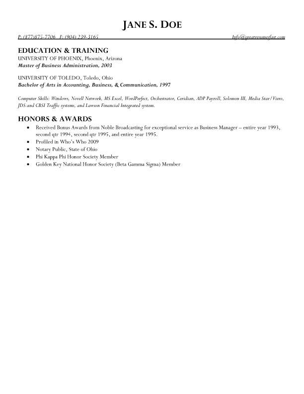 Market Controller  Business Manager Resume - Resume Business Manager