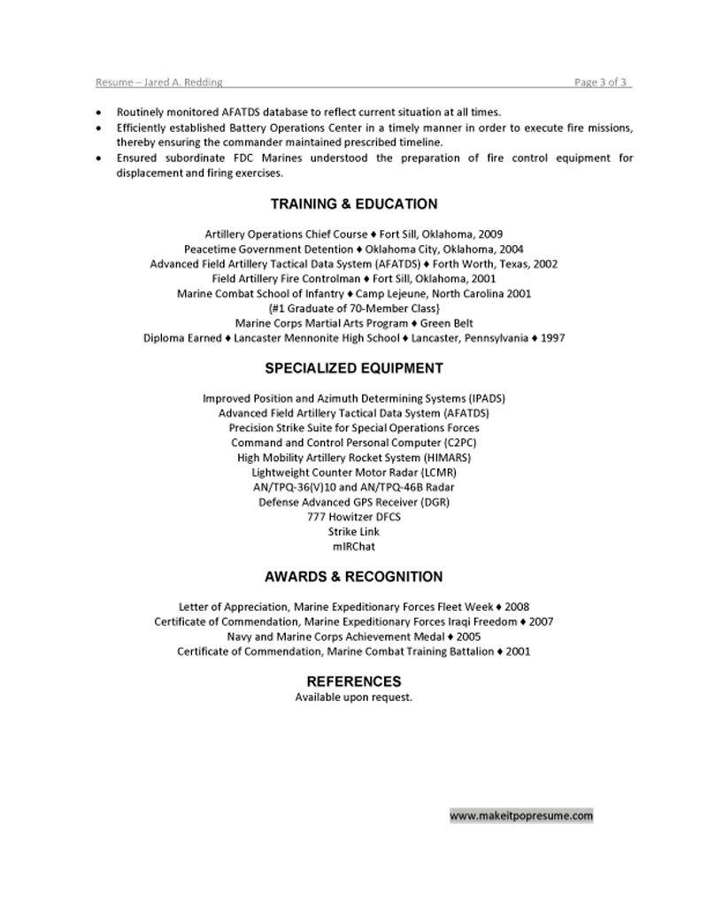 usmc resume usmc resume accents alex tk