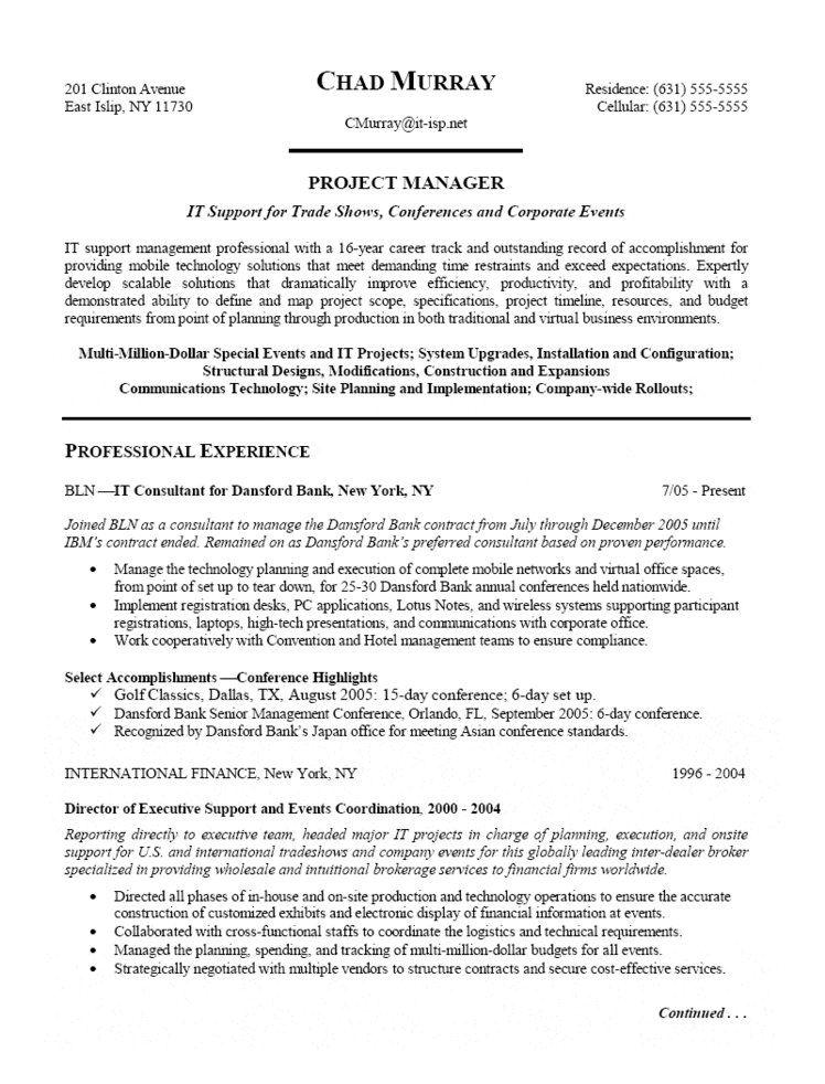 data center manager resume template
