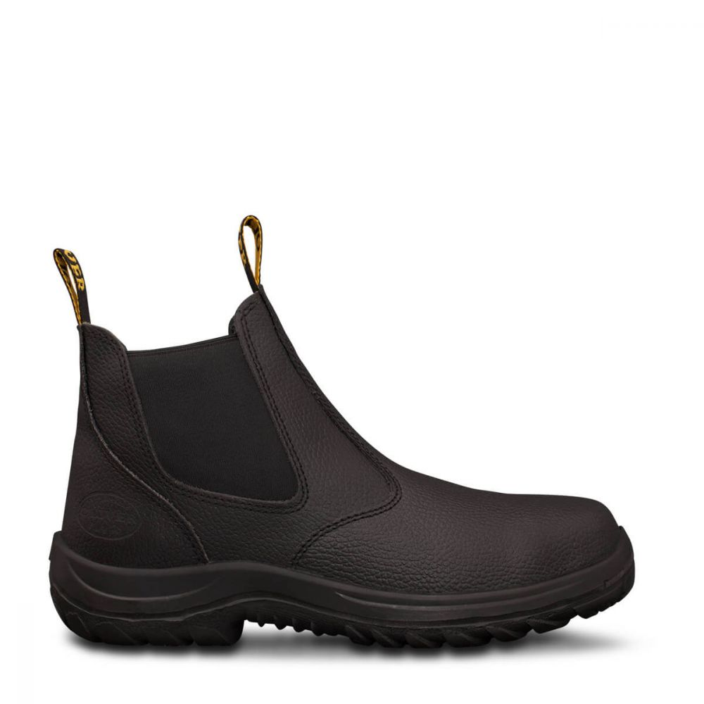 Oliver Safety Slip On Boot Black 34680 The Workers Shop