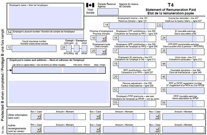 What Does My T4 Mean Understanding Your T4 In Canada