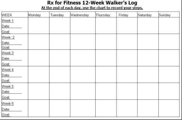 Enchanting Weekly Workout Log Template Photos - Resume Ideas