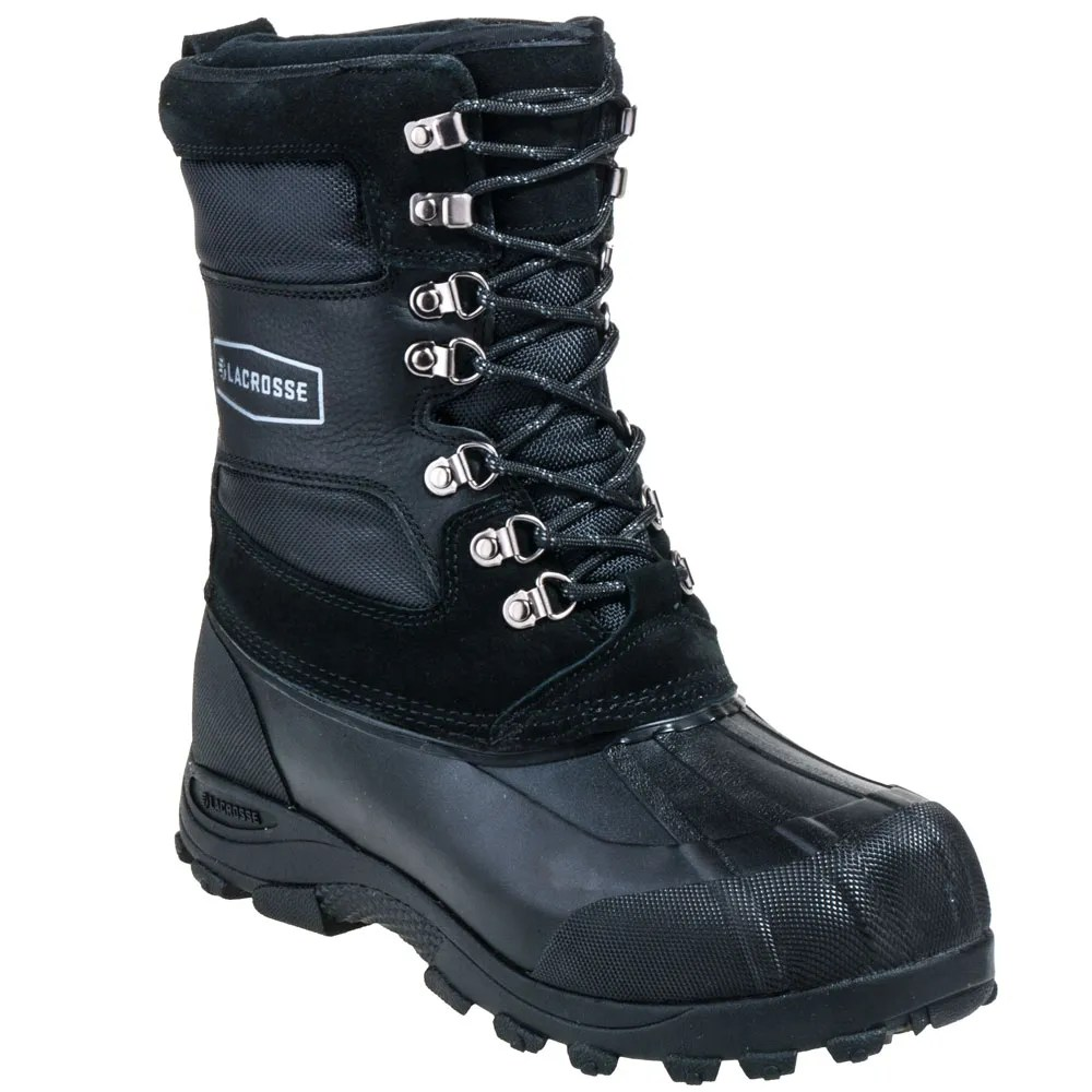 Lacrosse Boots Men39s 600802 Black Waterproof Outpost Ii
