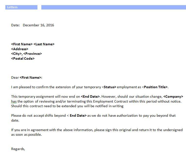 Job Offer Letter Pack u2013 Workipedia - employment offer letters