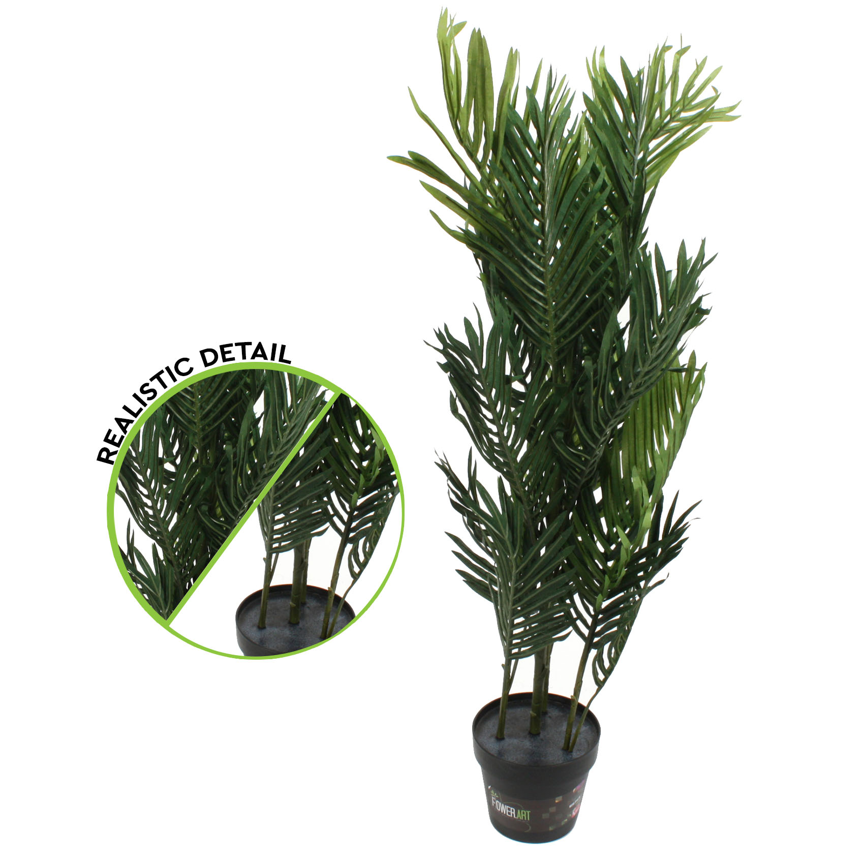 Buy Artificial Plants New Artificial Plant Mini Palm 100cm Potted Fake Faux