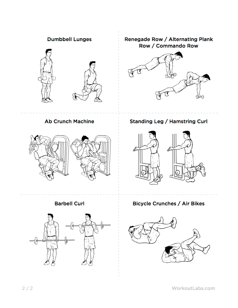 create your own full body circuit workout