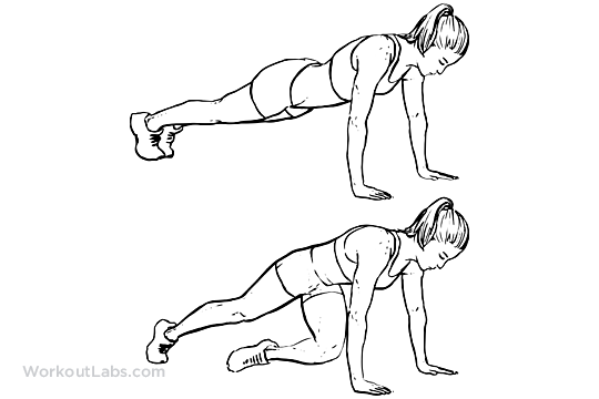 twisted leg diagram