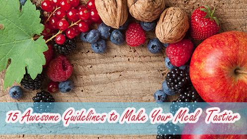 15 daily nutritional guidelines