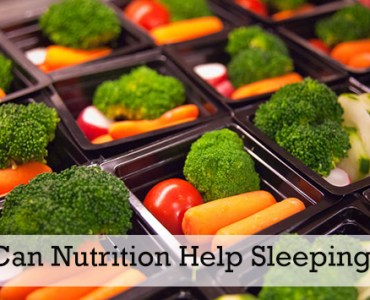 Can Nutrition Help Sleeping?