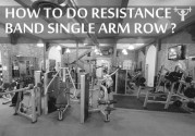 How To Do LR: Resistance Band Single-Arm Row with Knee-Up???