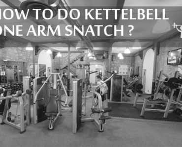 Kettlebell One-arm snatch