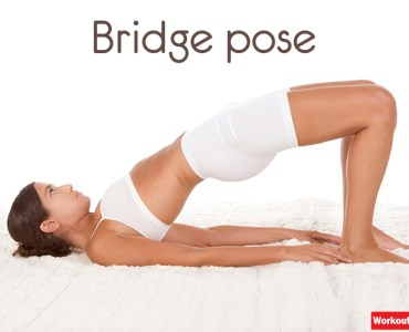 bridge yoga pose