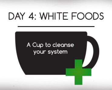 health significance of white foods