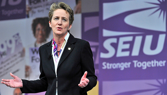 SEIU Boss Envisions a National Contract of 4 Million Fast-Food Workers in the U.S.