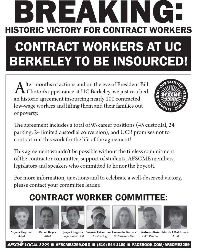 Unsurprisingly uc berkeley caves to union boycott threat of clinton