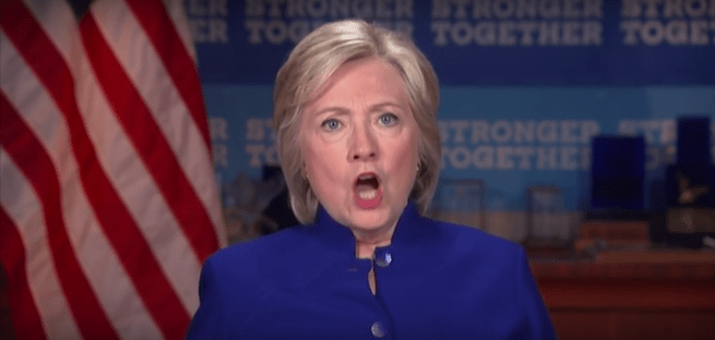 Hillary Unhinged: Candidate Clinton Excoriates Poll Numbers To Union Officials [Video]