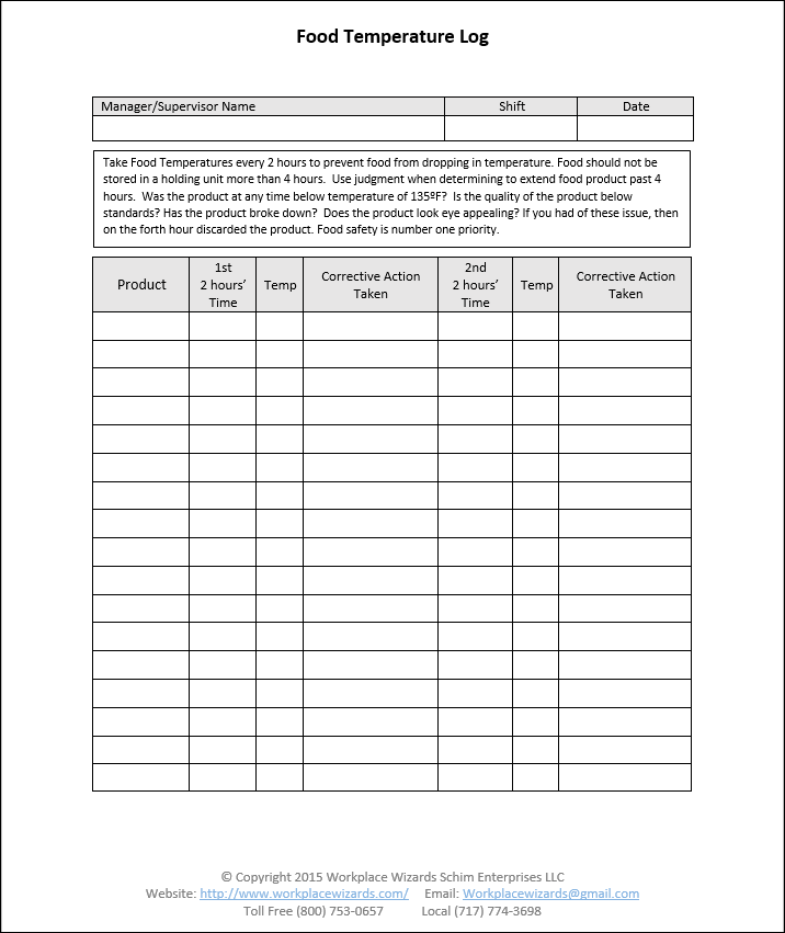 Restaurant Manager Walk Through Checklist Restaurant