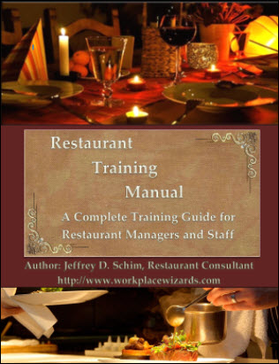 Restaurant Management Training Manual