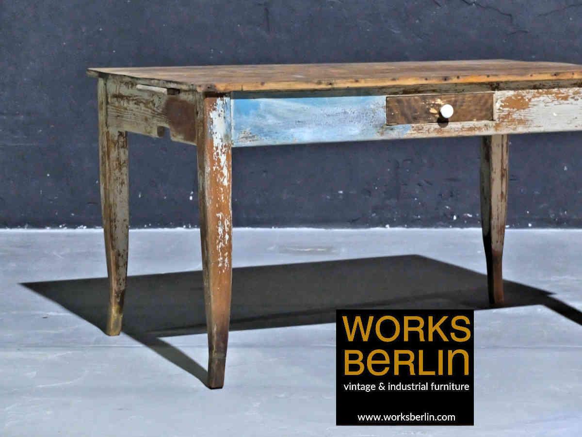 Tisch Industrial | Industrial Küche Bilder Werkbank Tisch Kücheninsel