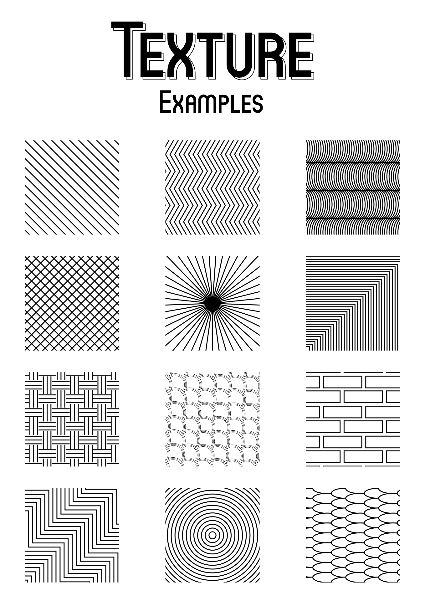 Art Textures Techniques 9 Best Images Of Drawing Texture Worksheet Art Texture