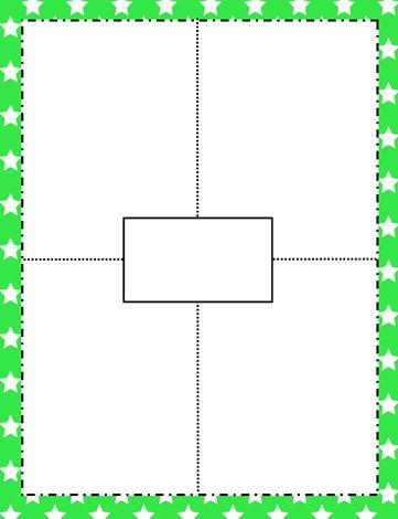 Frayer Model BlankTemplate Worksheets