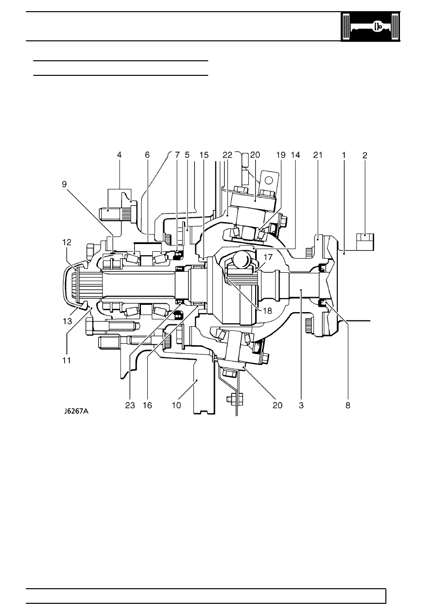 diagrams land rover workshop on land rover defender front axle