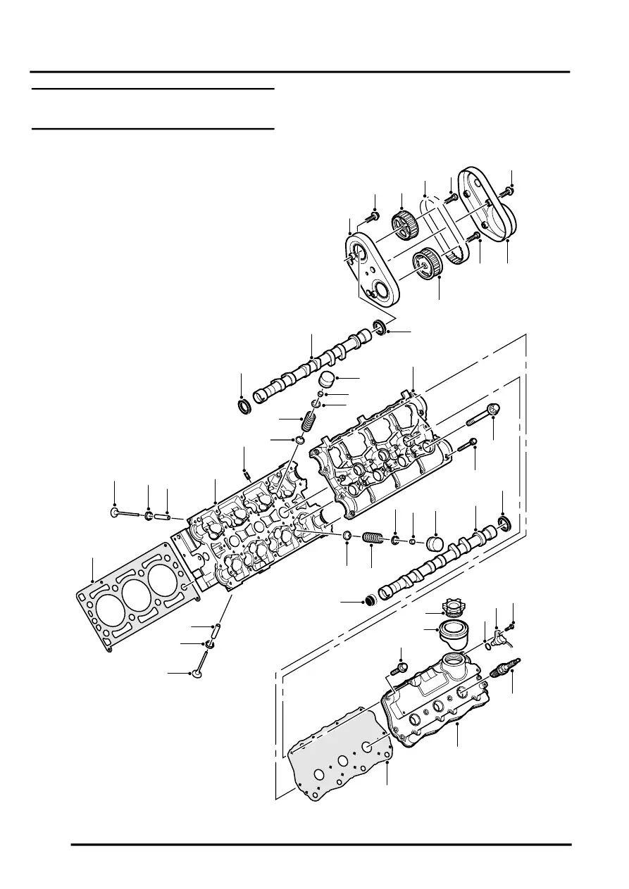 rover k series engine diagram