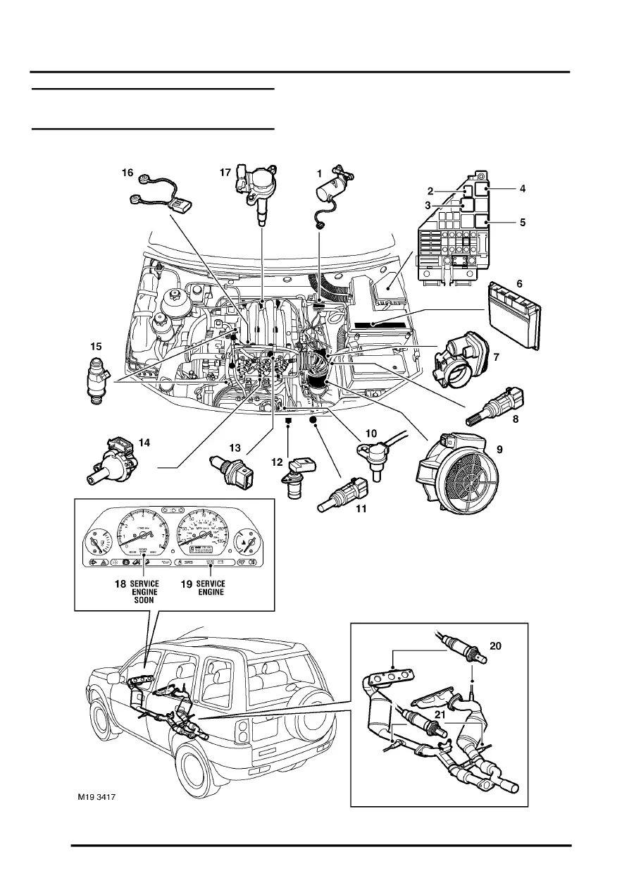 2003 land rover lander engine diagram