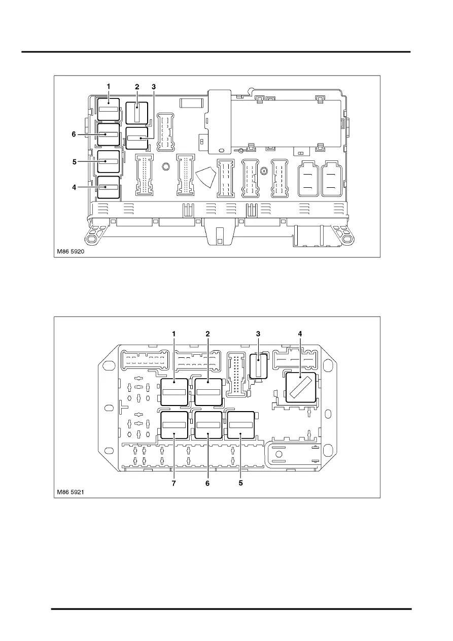 06 range rover fuse box