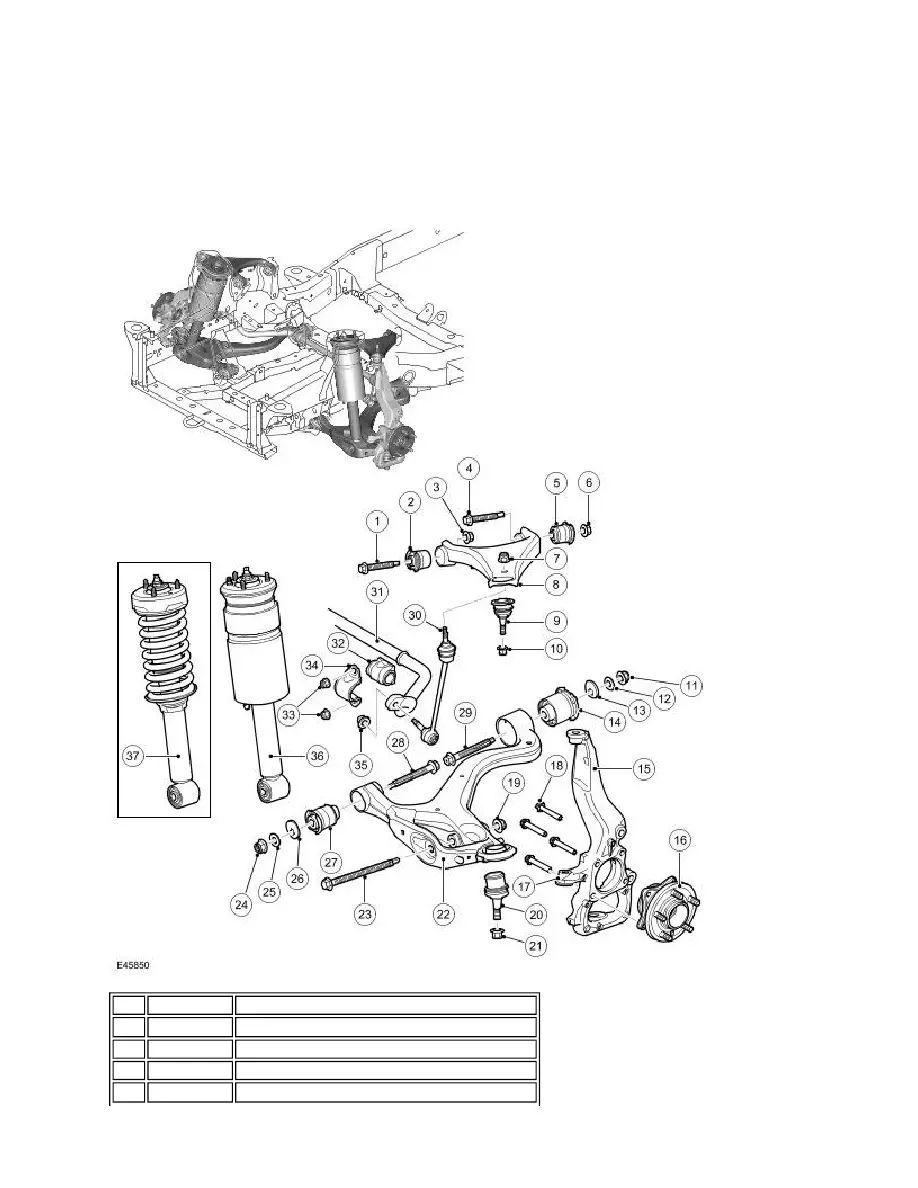 2003 land rover range suspension diagram