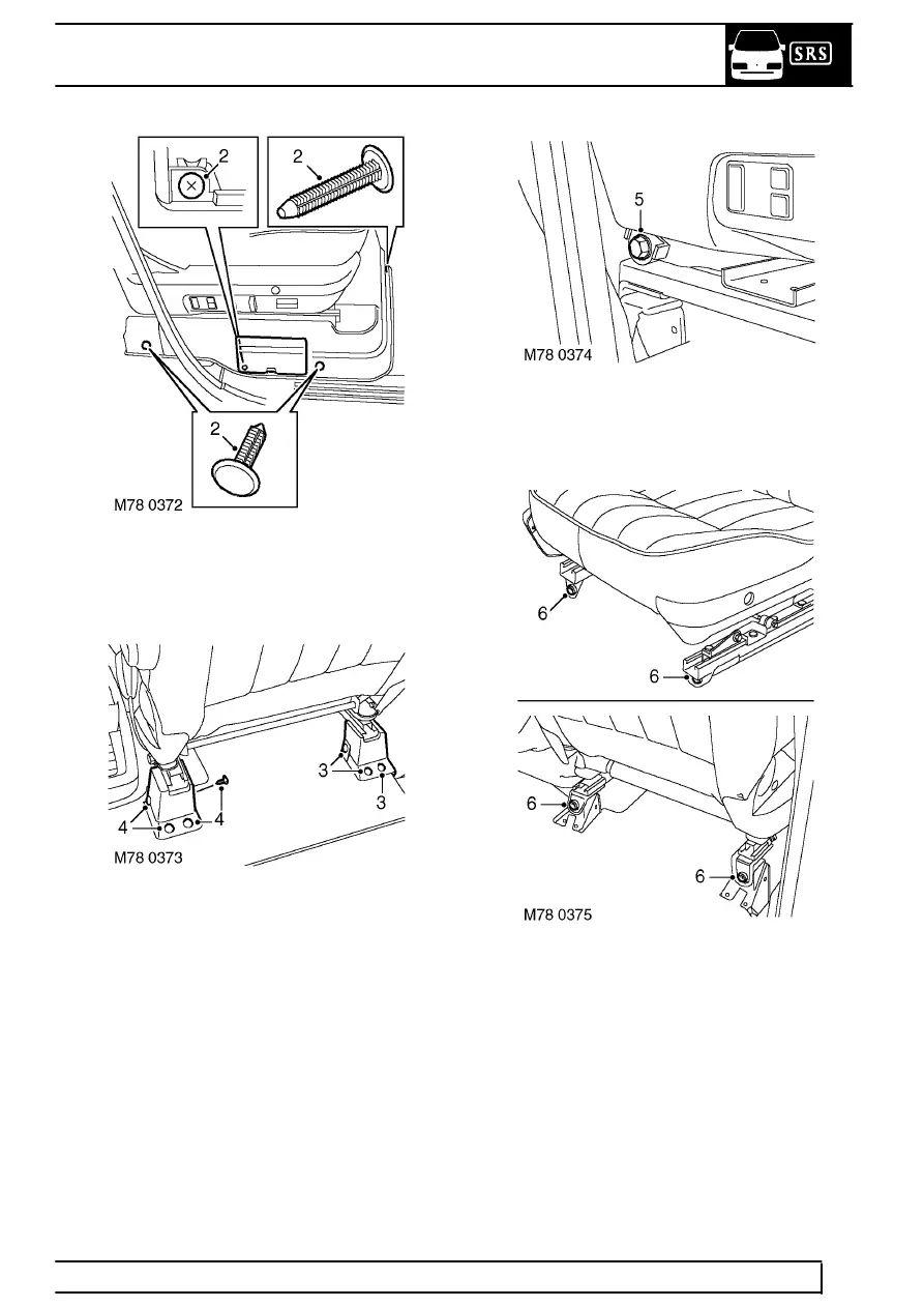 range rover l322 seat wiring