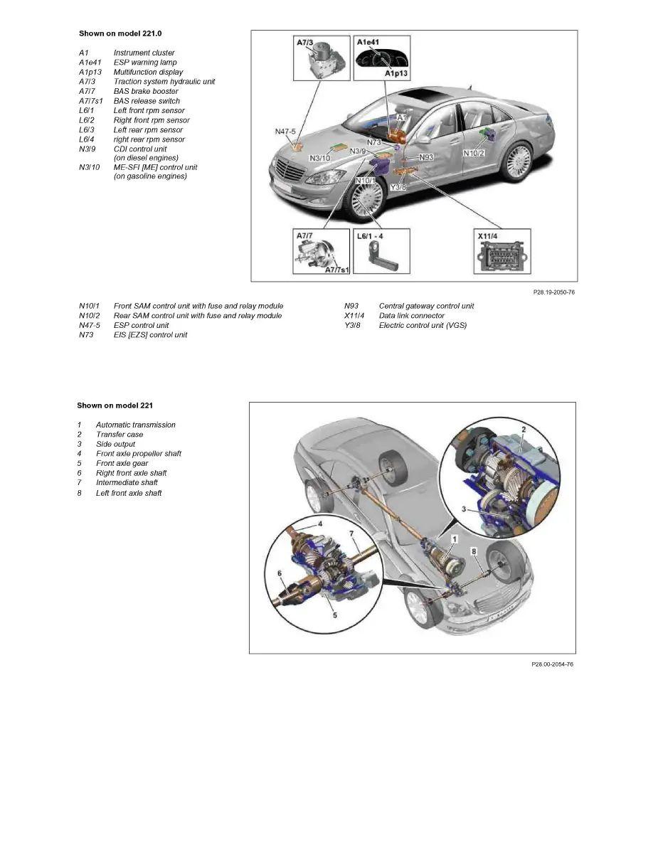 glk 350 engine diagram
