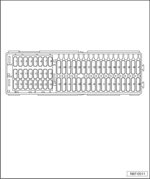 seat leon mk1 fuse box diagram