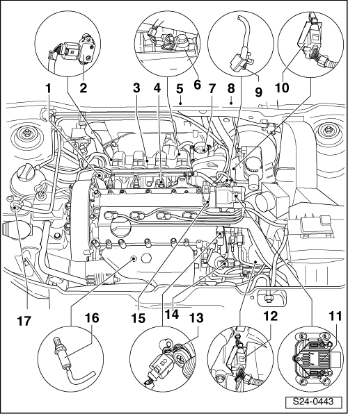 skoda engine diagram
