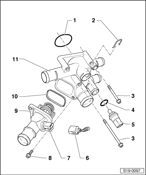 skoda octavia engine coolant sensor