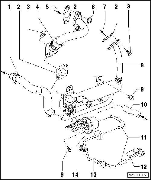 skoda octavia vacuum diagram