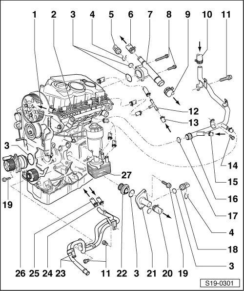 skoda octavia wiper wiring diagram