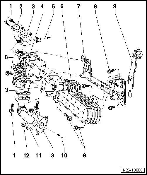 skoda vacuum diagram